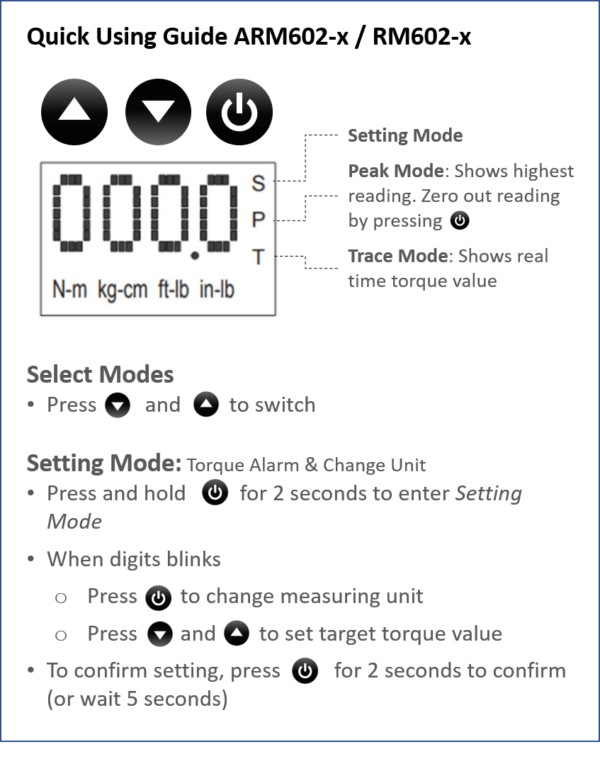ARM602 x quick guide